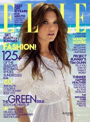 elle ELLE magazine goes green again