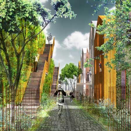 edenbio1 Parisian social housing goes green